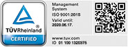 Digitroll Ltd. - TUV ISO Certificate